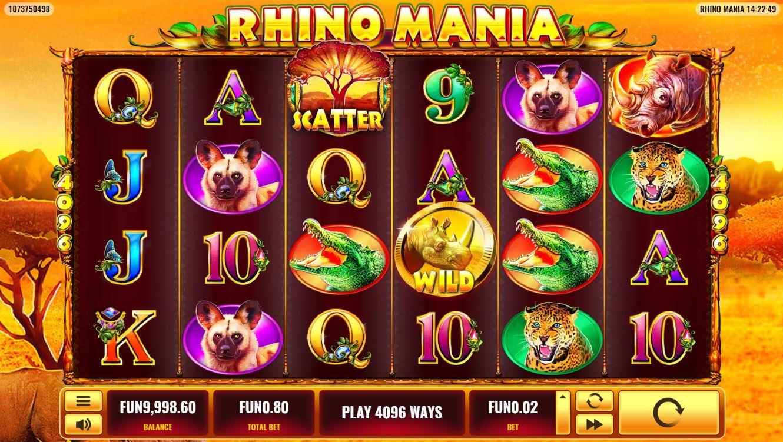 Spiele Rhino Mania - Video Slots Online