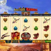bonus train bandits slot game