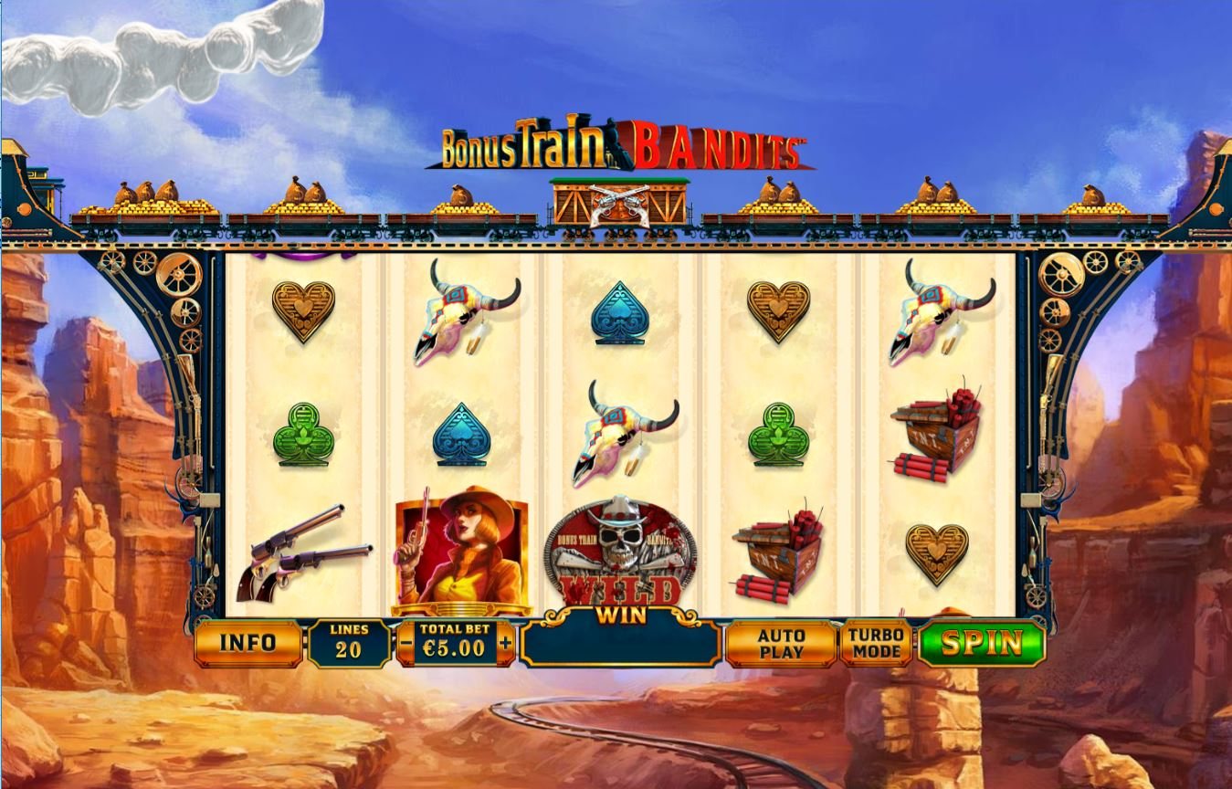 Spiele Bonus Train Bandits - Video Slots Online