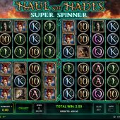 haul of hades super spinner slot game