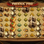phoenix fire power reels slot game