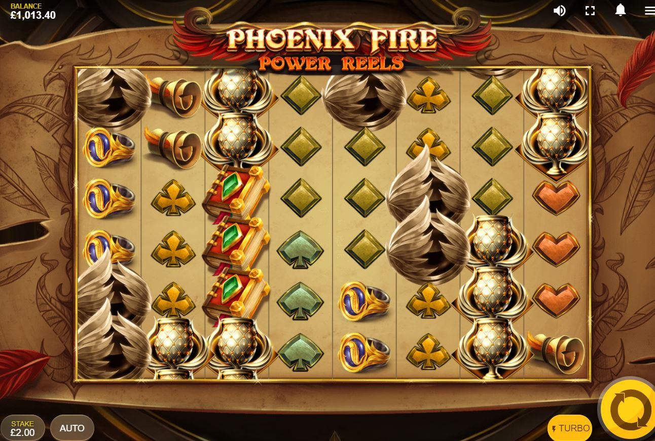 Phoenix Fire Power Reels Rtp