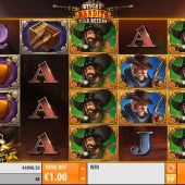 sticky bandits wild return slot game