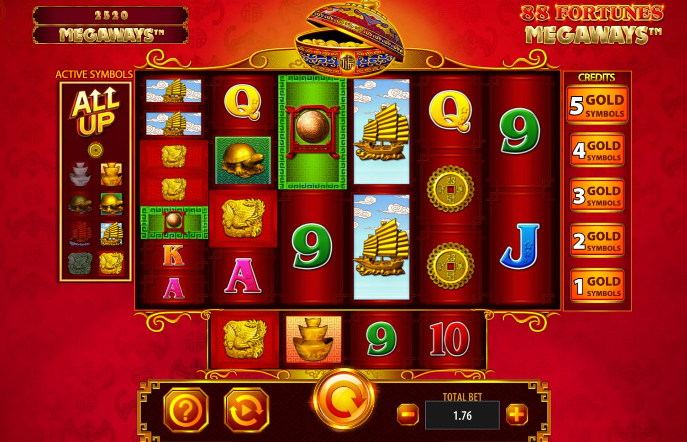 Spiele 88 Fortunes Megaways - Video Slots Online