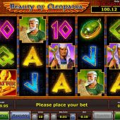 beauty of cleopatra slot game