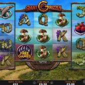 giant grizzly slot game