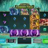 kingdoms rise forbidden forest slot game