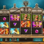 kingdoms rise sands of fury slot game