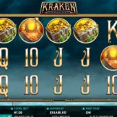 kraken conquest slot game