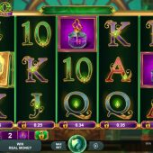 book of oz lock n spin slot game