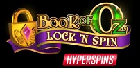 Cover art for Book of Oz Lock n Spin slot