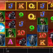 safari gold megaways slot game