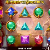 aladdin and the sorcerer slot game
