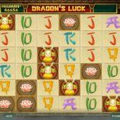 dragons luck megaways slot game