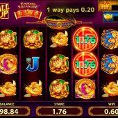endless treasure slot game