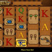 eye of horus megaways slot game
