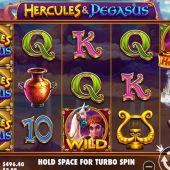 hercules and pegasus slot game
