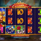 legendary excalibur slot game