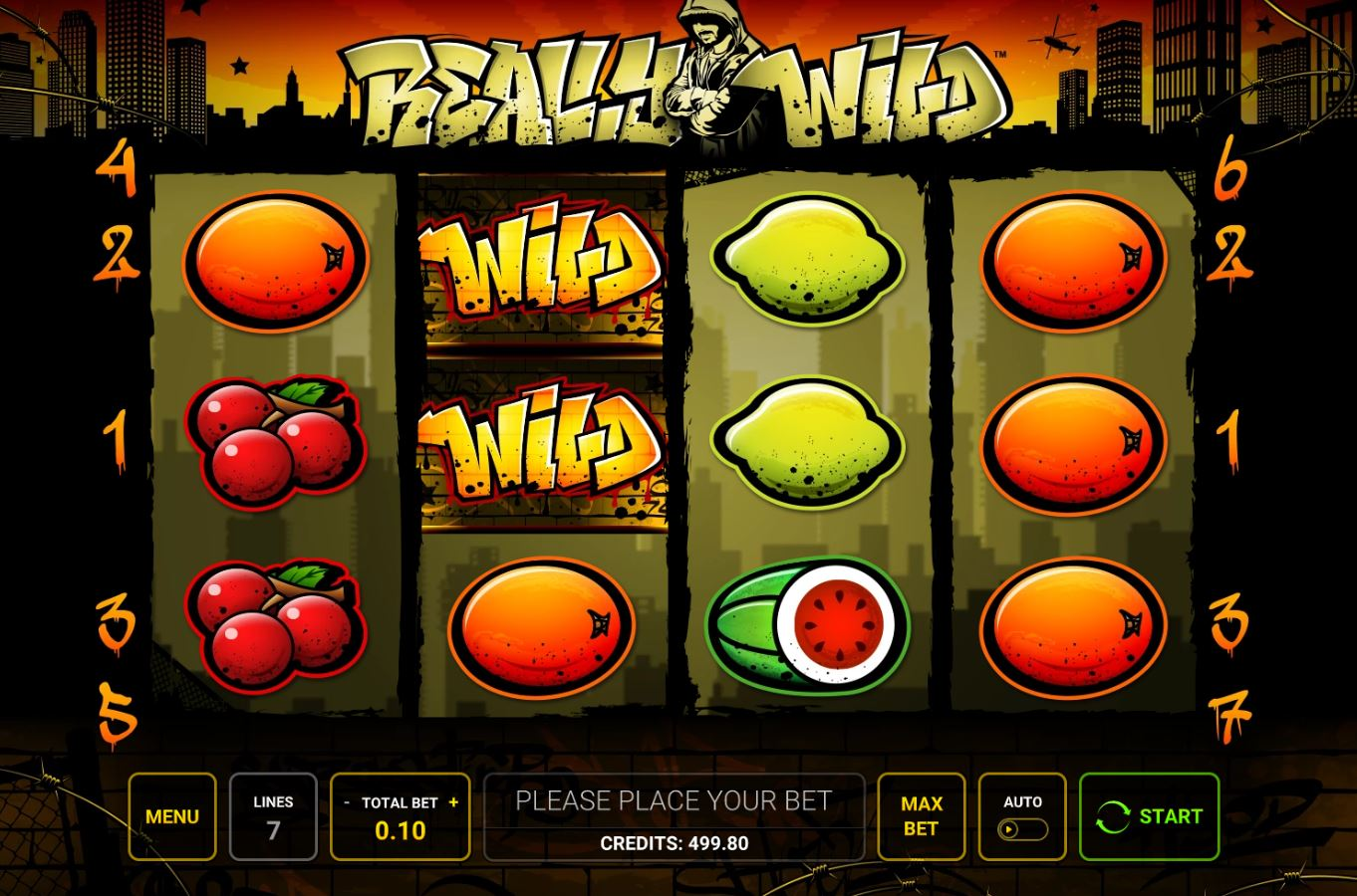 Slot Game Reely Wild