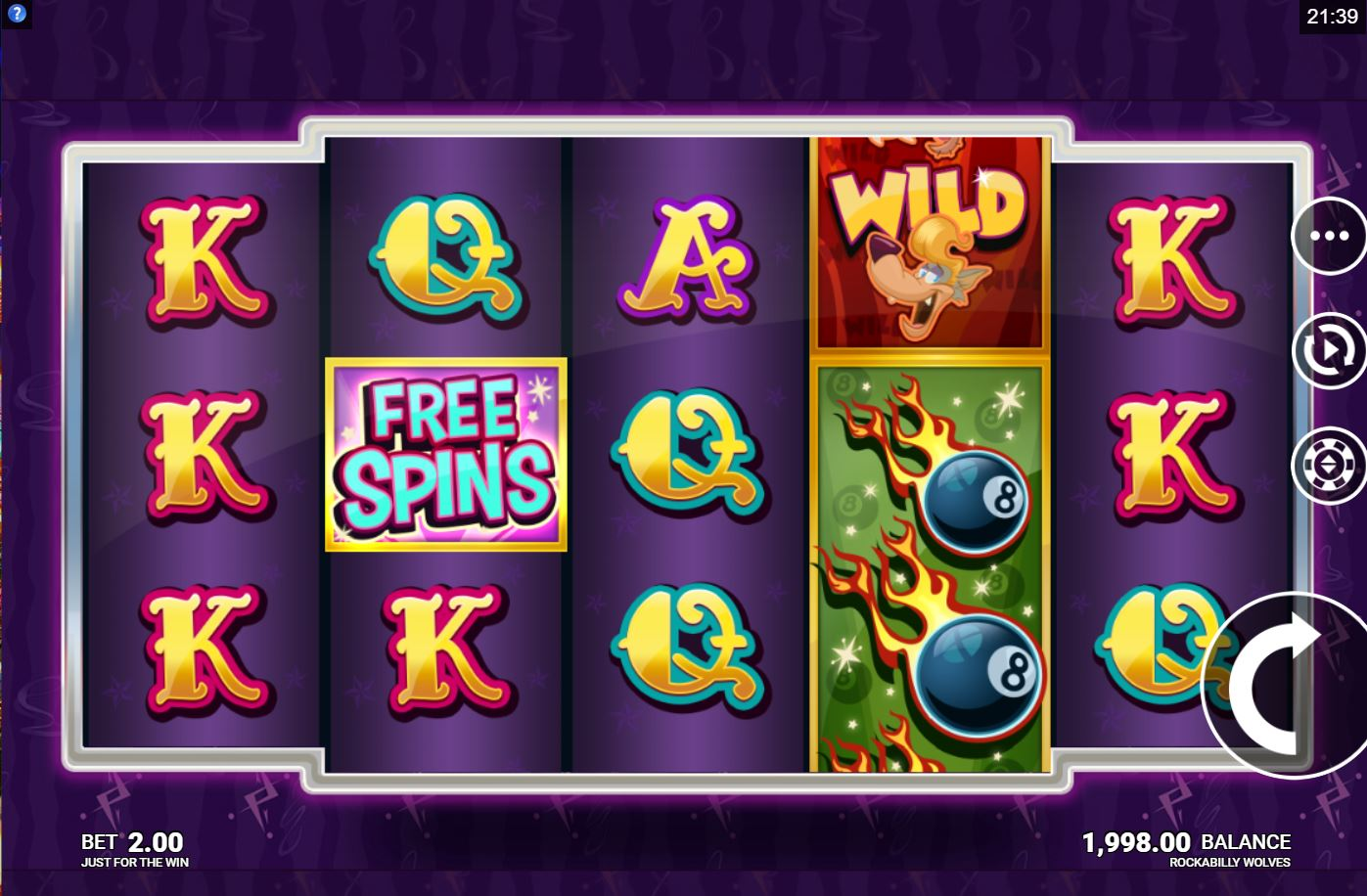Microgaming Casinos Launch Rockabilly Wolves Slot