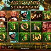 sherwood showdown slot game