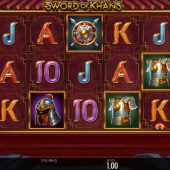 sword of khans slot game