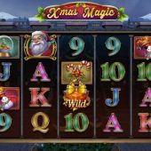 xmas magic slot game