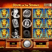 book of the sphinx slot game