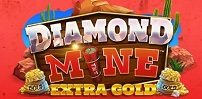 Cover art for Diamond Mine Extra Gold Megaways slot