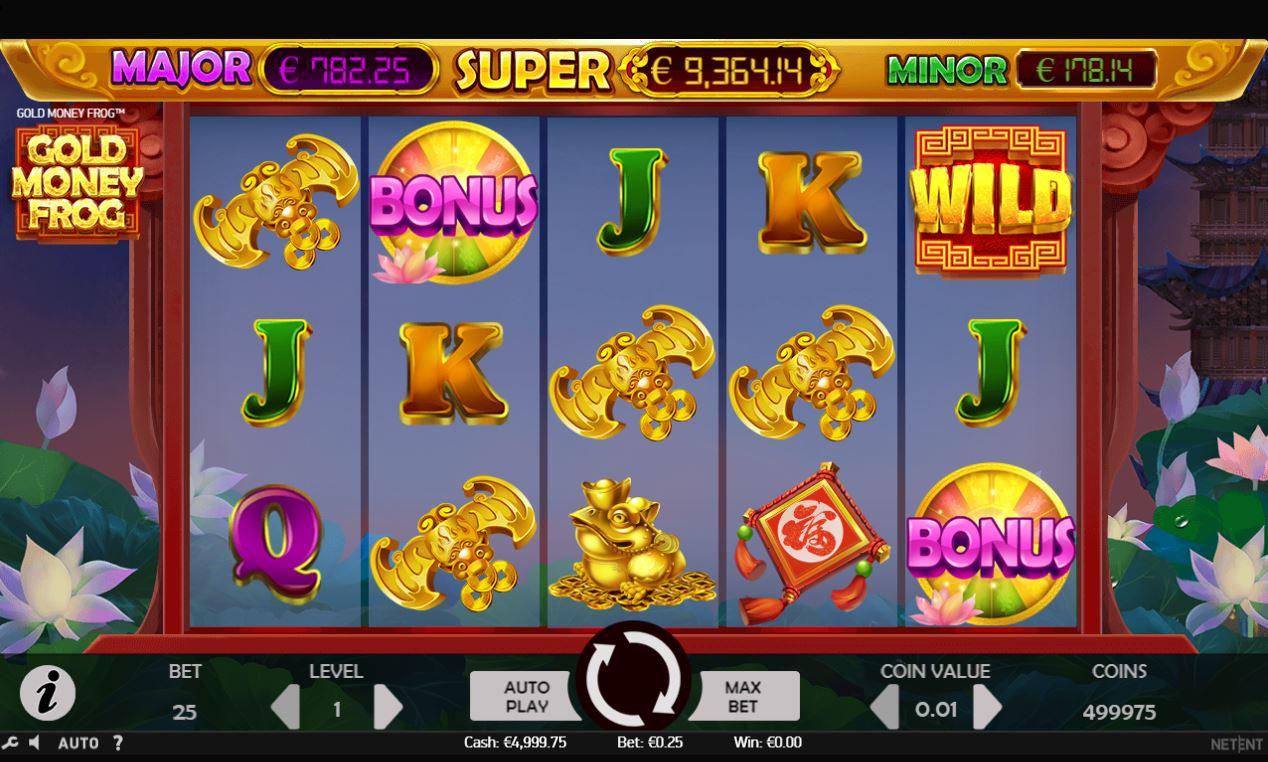 Spiele Gold Money Frog - Video Slots Online