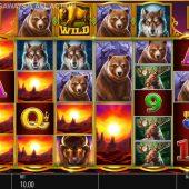 buffalo rising all action slot game