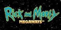 Cover art for Rick and Morty Megaways slot