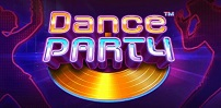 dance party slot logo