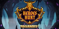Cover art for Heroes Hunt Megaways slot