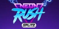 neon rush splitz slot logo