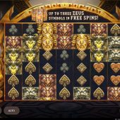 zeus lightning slot game