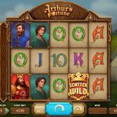 arthur's fortune slot game