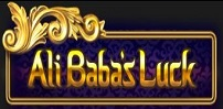 ali babas luck slot logo