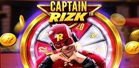 Cover art for Captain Rizk Megaways slot