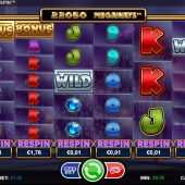 megaways respin slot game