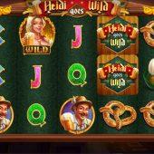 heidi goes wild slot game