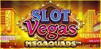 slot vegas megaquads slot logo