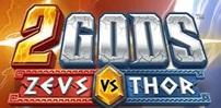 2 gods slot logo