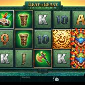 beat the beast quetzalcoatls trial slot game