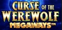 curse of the werewolf megaways slot logo