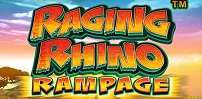 Cover art for Raging Rhino Rampage slot