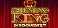 shining king megaways slot logo
