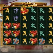 clash of the beasts slot game