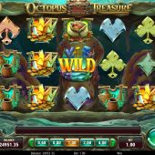octopus treasure slot game