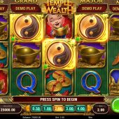 temple of wealth slot game